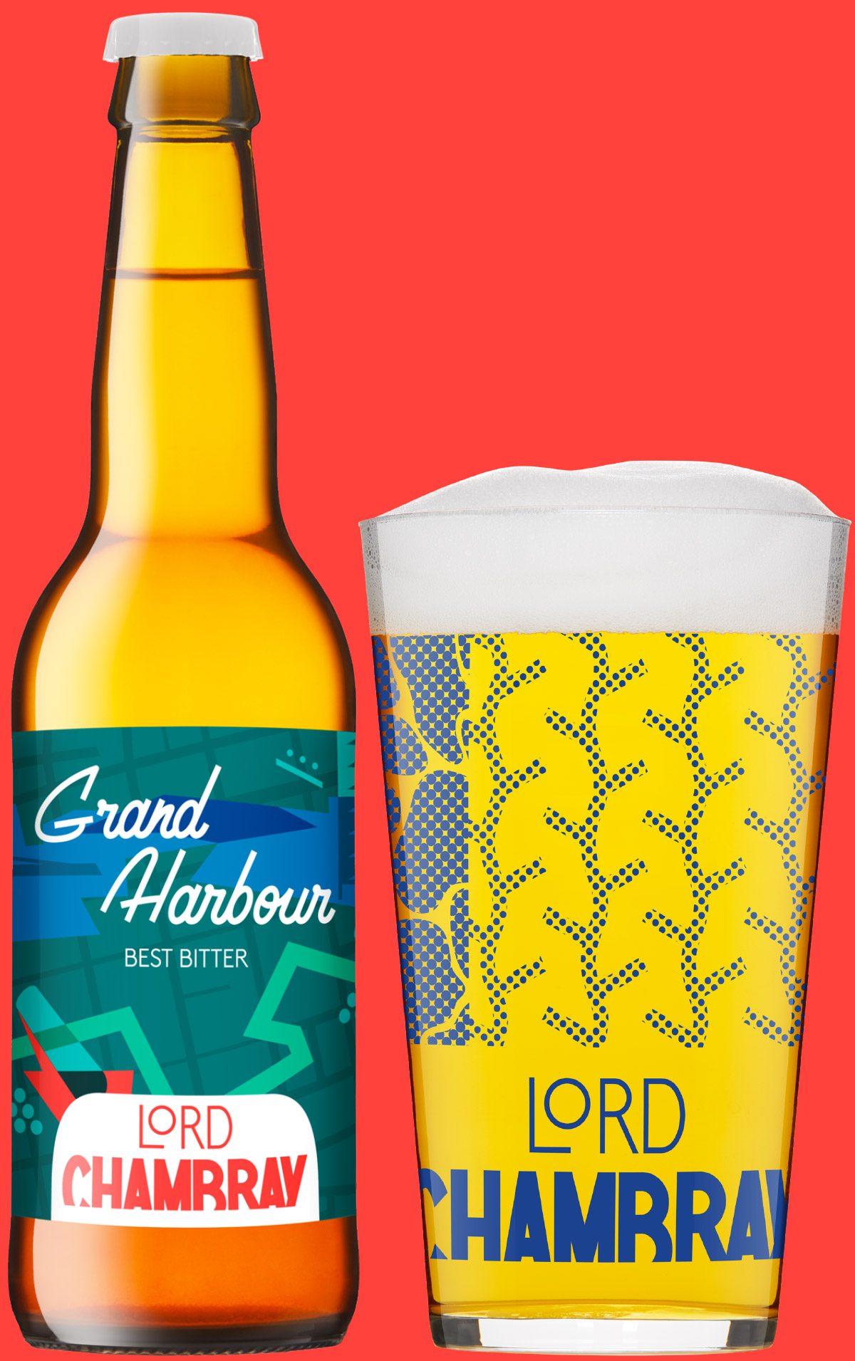 Lord Chambray – Craft Beer from Malta GRAND HARBOUR