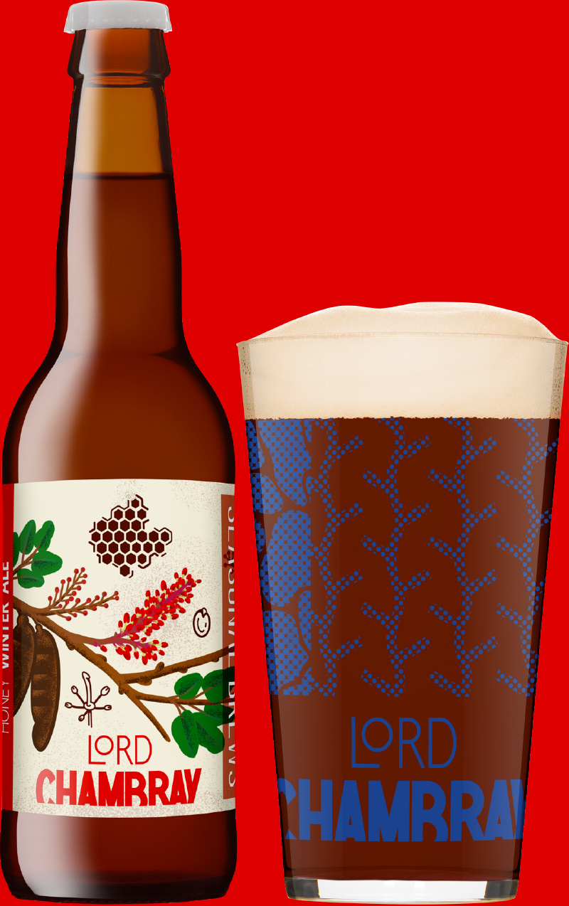 Lord Chambray – Craft Beer from Malta HONEY WINTER ALE