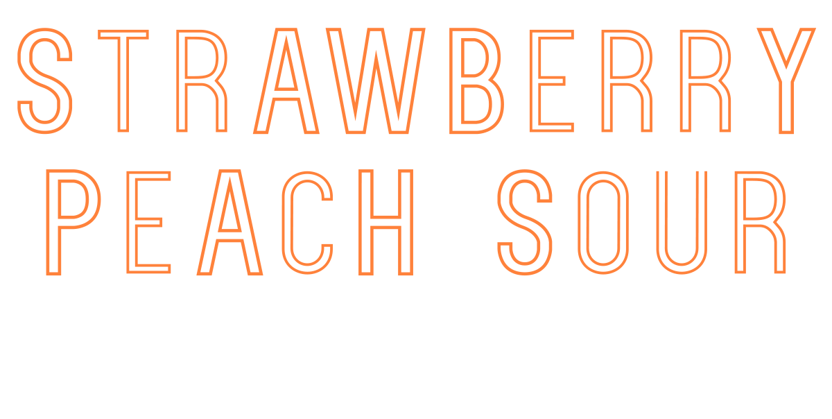 Strawberry Peach Sour – Lord Chambray